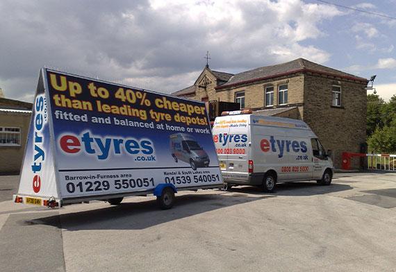 etyres mobile trailer