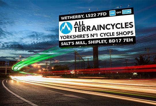 all terrain cycles roadside