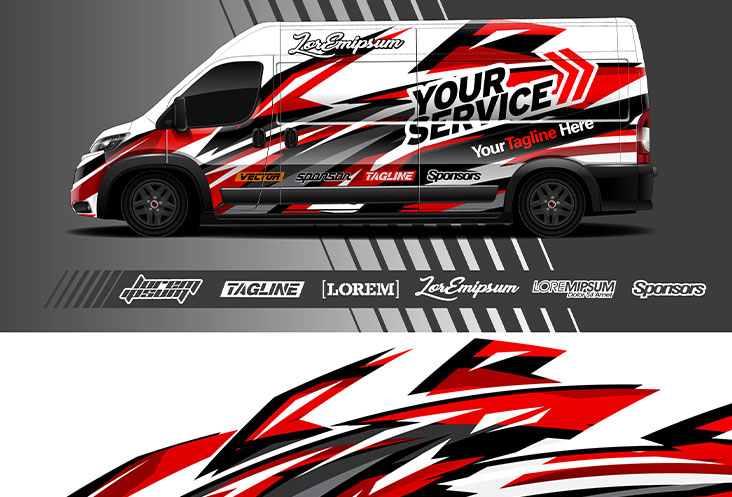 van-graphic-livery