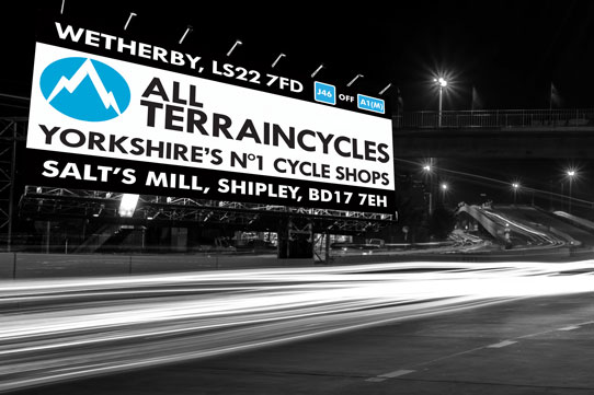 all terrain cycles billboard