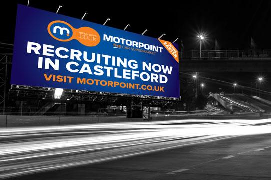 motorpoint billboard