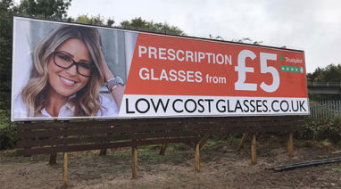low cost glasses case study custom crop